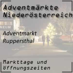 Adventmarkt Ruppersthal