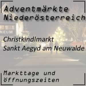 Christkindlmarkt Sankt Aegyd am Neuwalde