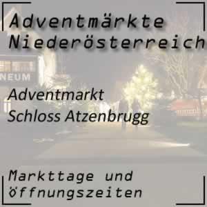 Adventmarkt Schloss Atzenbrugg