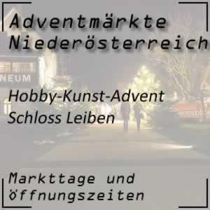 Adventmarkt Schloss Leiben