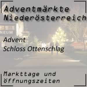 Adventmarkt Schloss Ottenschlag