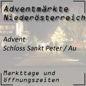 Advent Schloss Sankt Peter in der Au