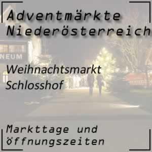 Weihnachtsmarkt Schlosshof