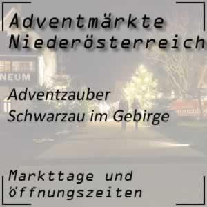 Adventzauber Schwarzau im Gebirge