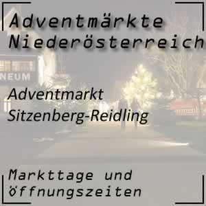 Adventmarkt Sitzenberg-Reidling Kellergasse