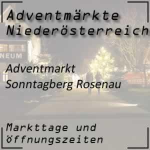 Adventmarkt Sonntagberg Rosenau