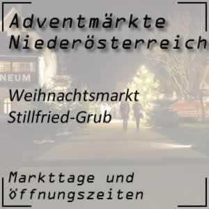 Weihnachtsmarkt Stillfried-Grub