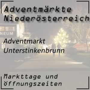Adventmarkt Unterstinkenbrunn