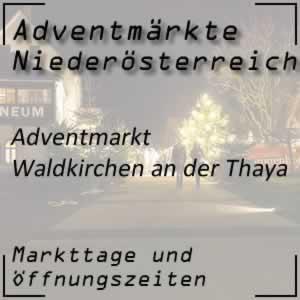 Adventmarkt Waldkirchen an der Thaya