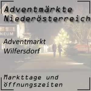 Adventmarkt Schloss Wilfersdorf