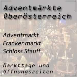 Adventmarkt Frankenmarkt Schloss Stauff