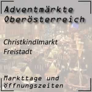 Christkindlmarkt Freistadt Schloss Freistadt