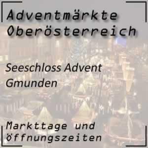 Schlösser Advent Seeschloss Gmunden