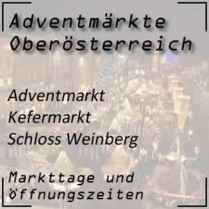 Adventmarkt Kefermarkt Schloss Weinberg