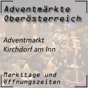Adventmarkt Kirchdorf am Inn Schloss Katzenberg
