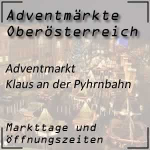 Adventmarkt Klaus an der Pyhrnbahn