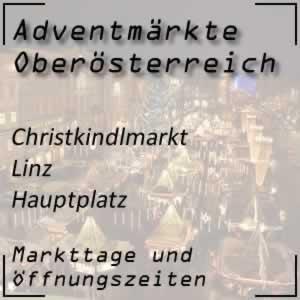 Christkindlmarkt Linz Hauptplatz