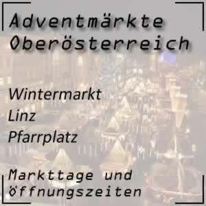 Wintermarkt Linz Pfarrplatz