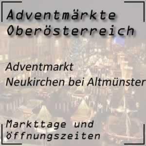 Adventmarkt Neukirchen bei Altmünster