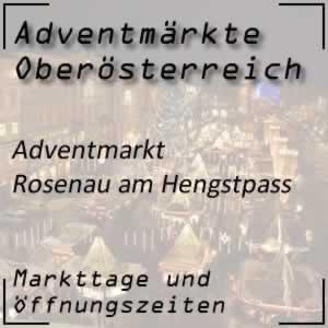 Adventmarkt Rosenau am Hengstpass