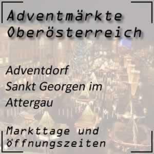 Adventmarkt Sankt Georgen im Attergau