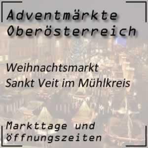 Weihnachtsmarkt Sankt Veit im Mühlkreis