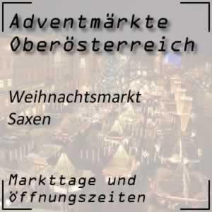 Adventmarkt Saxen