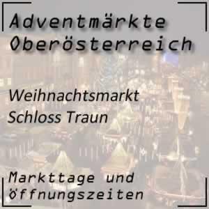 Weihnachtsmarkt Schloss Traun