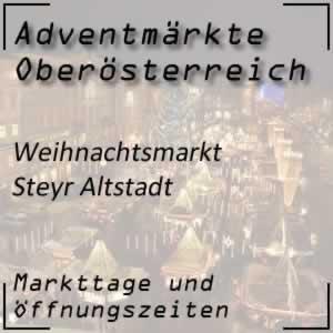 Weihnachtsmarkt Steyr Altstadt
