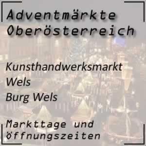 Kunsthandwerksmarkt Burg Wels
