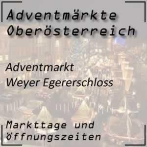 Adventmarkt Weyer Egererschloss
