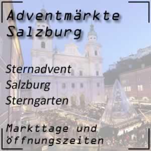 Sternadvent Salzburg Sterngarten