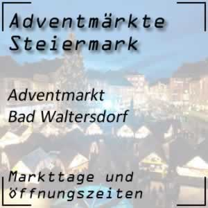 Adventmarkt Bad Waltersdorf
