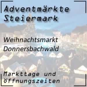 Adventmarkt Donnersbachwald