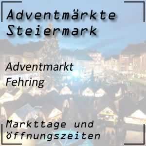 Adventmarkt Fehring Berghofer-Mühle