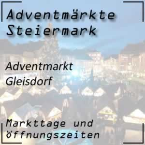 Adventmarkt Gleisdorf
