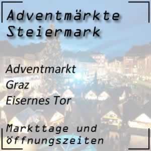 Adventmarkt Graz Eisernes Tor