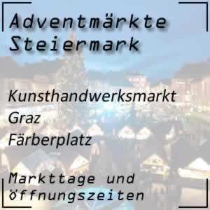 Kunsthandwerksmarkt Graz Färberplatz