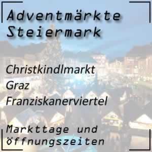 Christkindlmarkt Graz Franziskanerviertel