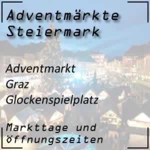Adventmarkt Graz Glockenspielplatz