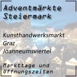 Kunsthandwerksmarkt Graz-Joanneumsviertel