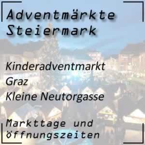 Kinderadventmarkt Graz Kleine Neutorgasse
