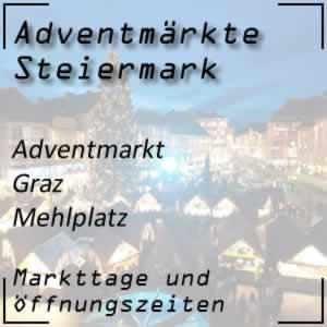 Adventmarkt Graz Mehlplatz