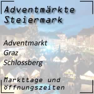 Adventmarkt Graz Schlossberg