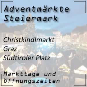 Christkindlmarkt Graz Südtiroler Platz