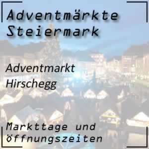 Adventmarkt Hirschegg