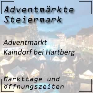 Adventmarkt Kaindorf bei Hartberg