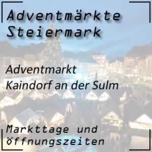 Adventmarkt Kaindorf an der Sulm