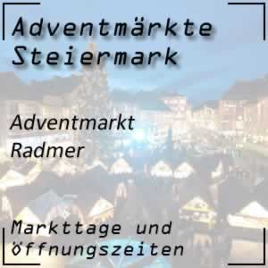 Adventmarkt Radmer