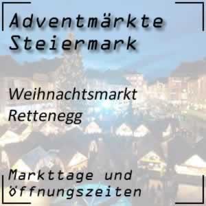 Weihnachtsmarkt Rettenegg